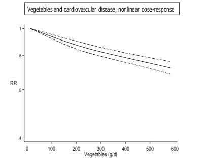 野菜摂取量と心血管病