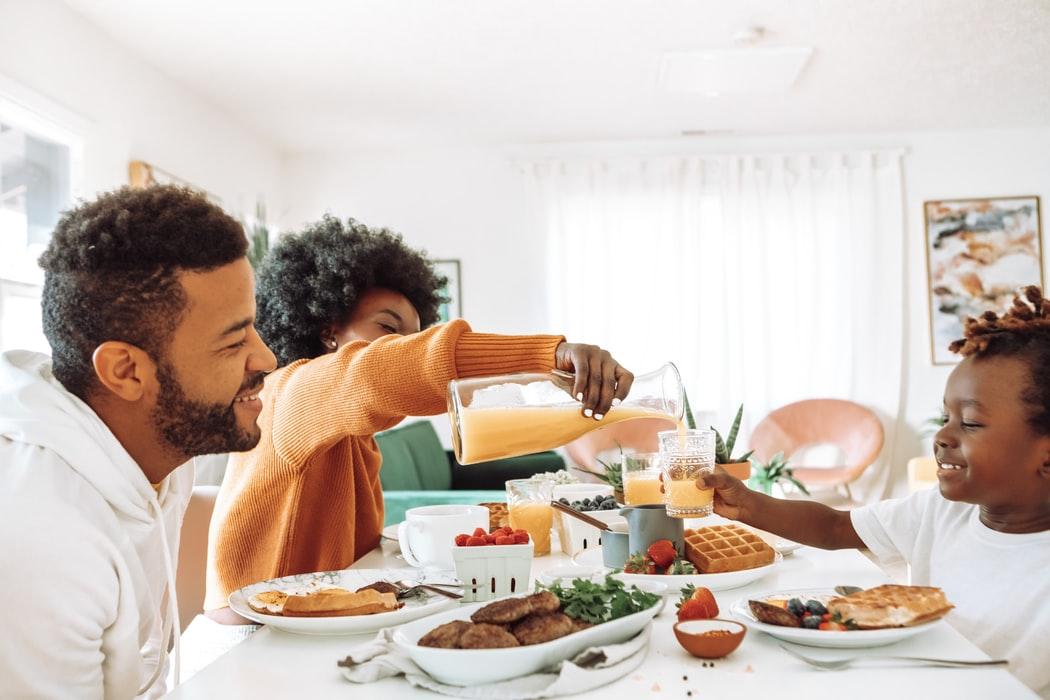 朝方にすると食事の質が良くなる?